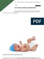 En Colombia Cada Niño Al Nacer Ya Debe en Promedio 9,7 Millones