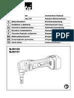 Manual Cizalla Bjn161rfe