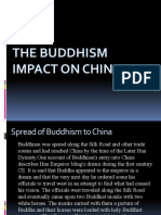 The Buddhism Impact on China(Judy's report)