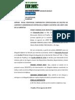 Apersonamiento Fiscalia Perez Cabrera