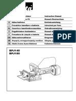 Manual Engalletadora Bpj180
