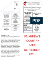 St Andrews Bulletin 081119