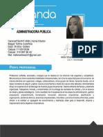 h.v. Maria Fernada Martinez - Ibagué