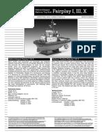 Fairplay I III X 05213 252637-71-Instructions