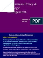 Business Policy &  Strategic Management.pptx