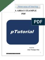 Java Array Example PDF
