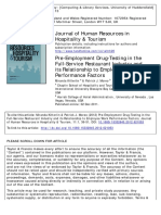 Journal of Human Resources in Hospitality & Tourism Volume 11 Issue 1 2012 [Doi 10.1080%2F15332845.2012.621053] Kitterlin, Miranda; Moreo, Patrick J. -- Pre-Employment Drug-Testing in the Full-Service