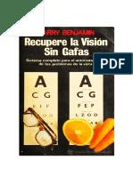 Recupere La Vision Sin Gafas