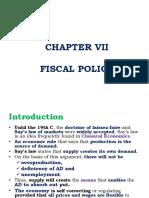 Public Finance Chapter 7