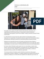 07-08-2019 Capacitará Salud Sonora a voluntarios de PonteFrenteAlEspejo - H.canalsonora