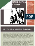 Participación Política Dela Mujer