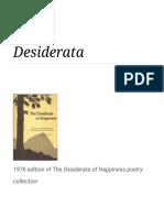 Desidrata