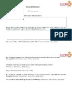 SuperStars Personal Statement Form-6