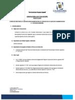 1. Terminos de Referencia Del Segundo Concurso Cas 10-07-2019