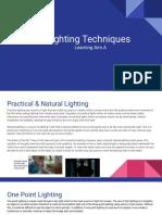 unit 36  lighting techniques laa