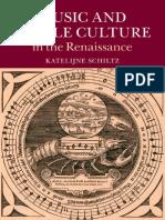 Katelijne Schiltz - Music and Riddle Culture in the Renaissance-Cambridge University Press (2015)
