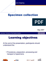 2. SPECIMEN Collection.ppt