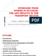 Hydrogen From Hydropower (Ecuador)