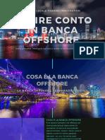 Apertura Conto Banche Offshore _ Conto a Panama e Paradisi Fiscali