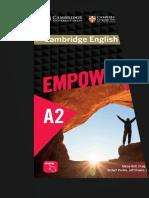 Empower a2 Elementary Student s Book Contestado
