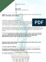 Derecho de Peticion Registraduria