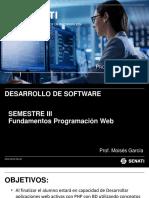 DS - SIII - Fundamentos Programación Web - 2 - PHP MVC