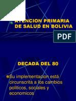 Atencion Primaria de Salud en Bolivia(Disk 3)
