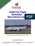 A320 Simulator Qatar