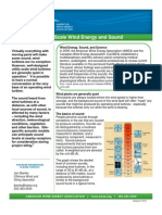 Utility Scale Wind Energy Sound