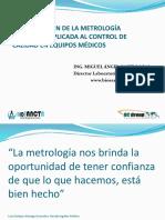 La Innovación de La Metrología Biomédica Aplicada Al Control de Calidad en Equipos Médicos