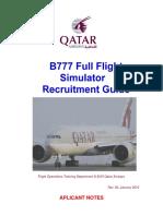 b777 Assessment Sim 3