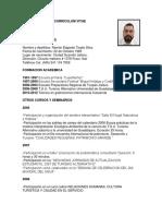 0_curriculum Vitae Ramon Tirado