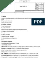Check List para maquinas de Soldar