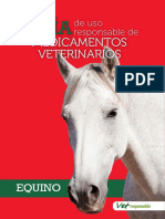FARMACOLOGIA - Guia de Medicamentos Del Equino