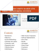Design of Security Based Atm Theft Monitoring System