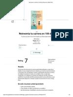 Libro Reinventa Tu Carrera en 100 Dias