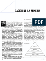 Mecanizacion de La Mineria (w. l. Wearly)