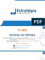 TJ - MG - Revisão de Véspera