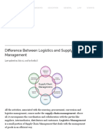 Difference Between Logistics and Supply Chain Management (With Comparison Chart) - Key Differences