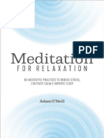 Adam O'Neill - Meditation for Relaxation_ 60 Meditative Practices to Reduce Stress, Cultivate Calm, and Improve Sleep-Althea Press (2019).epub