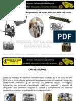 Miguel de La Calle Cadavid s.a. (26 Marzo) Brochure 2019