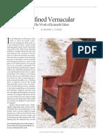 Refined Vernacular
