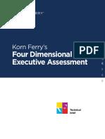 Korn Ferrys Four Dimensional Executive Assessment 2016