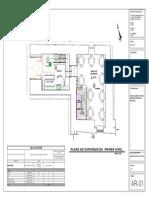 Plano Arquitectura 01 Calle Zetas