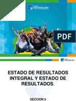 Presentacion Seccion 5 Estado de Resultados Integral
