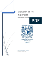 Evolución de Los Materiales