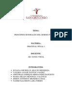 Los Principios Generales Del Debido Proceso