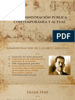 Administración Pública Contemporánea