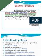 politica integrada ejemplo