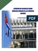 AlbertoFernandez Sistema de Salud en Cuba